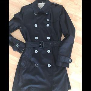 Burberry Brit Black Rain Coat